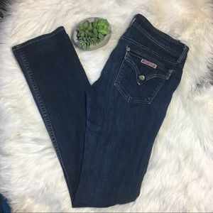 Hudson straight leg Collin jeans
